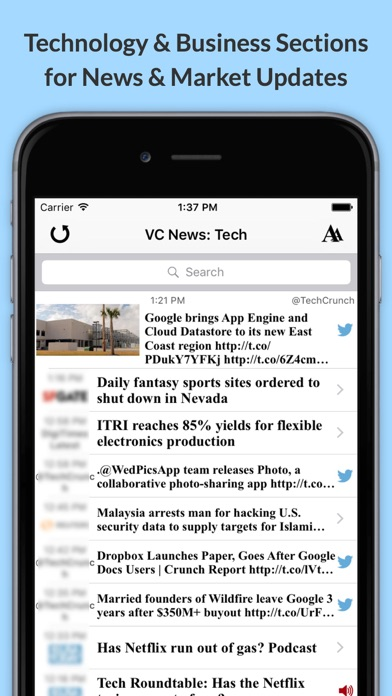 Screenshot for VC News: Latest Venture Capital & Private Equity News in United States App Store