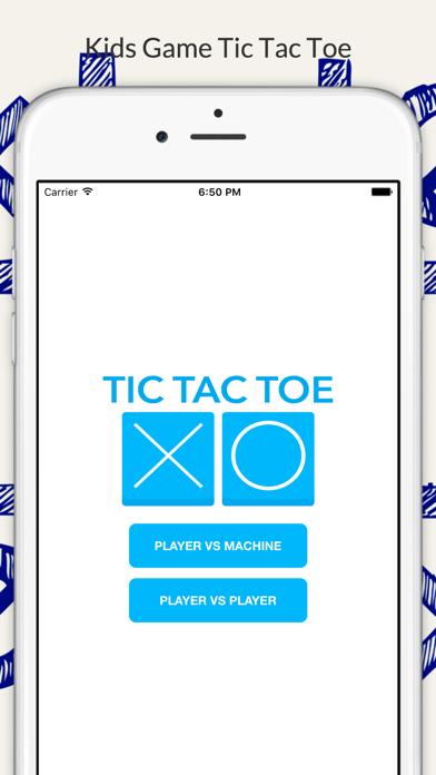 Tic Tac Toe - Kids Free Game Screenshot on iOS
