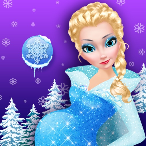 Mommy Queen's Newborn Ice Baby - Infant Child & Birth Care Games iOS App