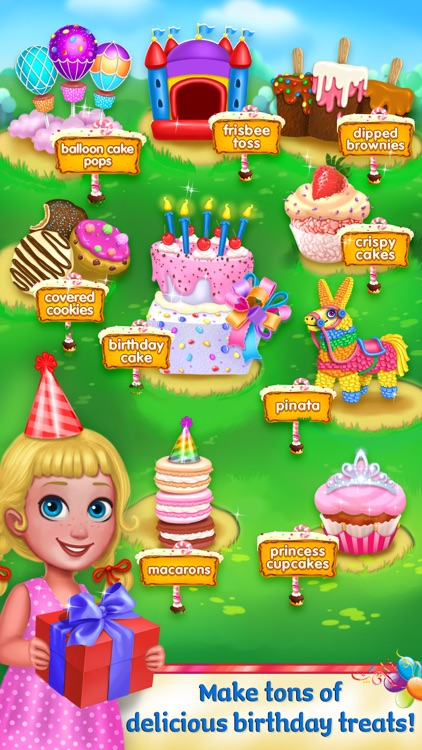 Yummy Birthday - Party Food Maker screenshot-4