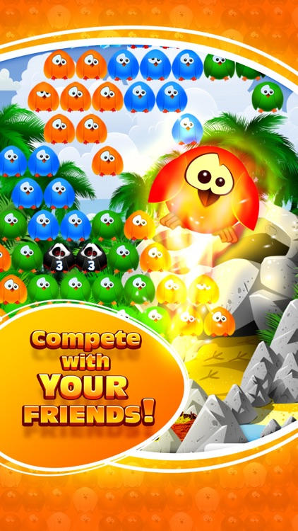 Bubble Birds 3 - Match 3 Puzzle Shooter Game screenshot-3