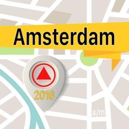 Amsterdam Offline Map Navigator and Guide