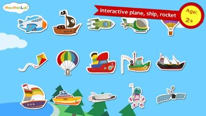 Самолеты, ракета и корабли - раскраска, пазл, разные виды ...