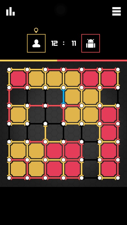 Dots and Boxes 2016 ~ board frenzy game and epic cheating in pocket edition screenshot-4