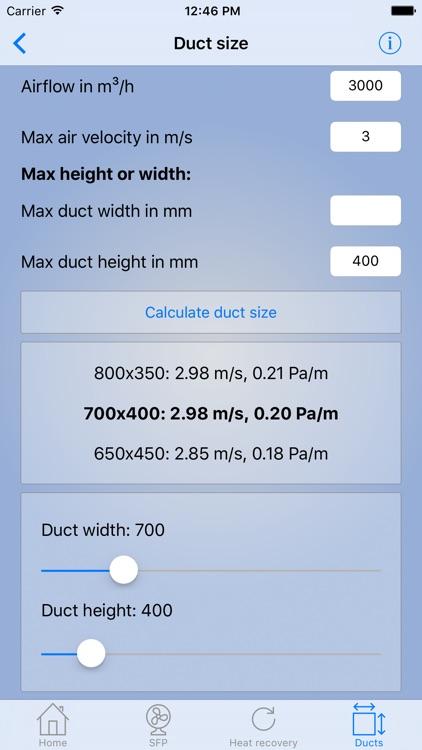 HVAC-calculator screenshot-4