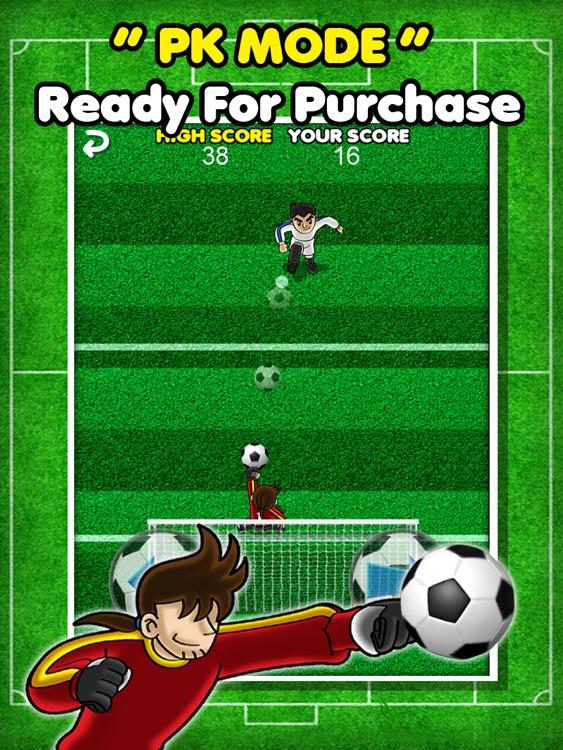 Amazing Goalkeeper - Bravo Penalty Soccer Sports Showdown HD Free screenshot-3