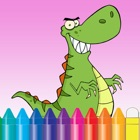 Dinosaur Coloring Book for Kids and kindergarten icon