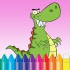 Dinosaur Coloring Book for Kids e jardim de infância icon