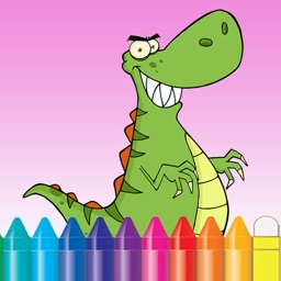 Dinosaur Coloring Book for Kids and kindergarten