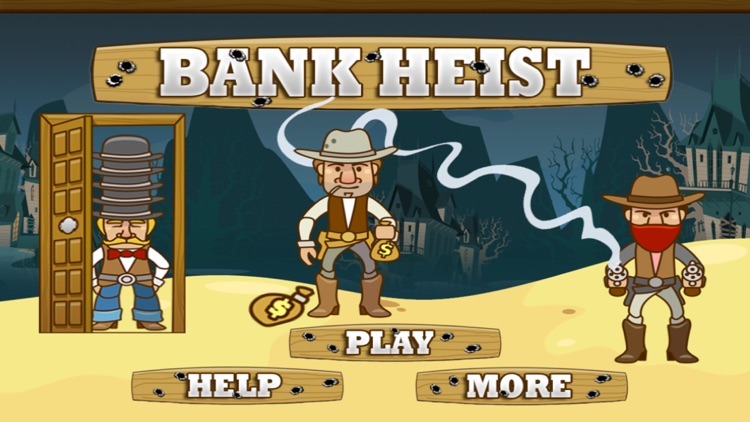 The Bank Heist Shoot Em Up Game