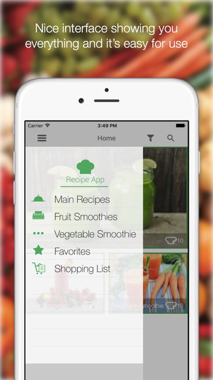 Green Smoothie Recipes - Find All Delicious Recipes screenshot-3