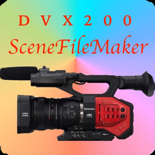 SceneFileMaker for DVX200