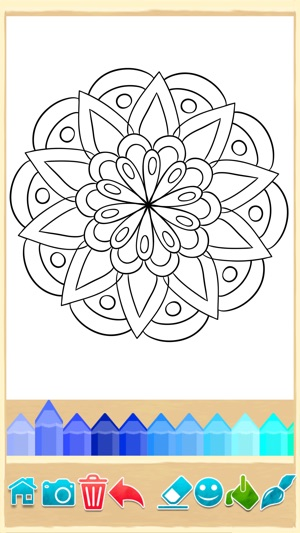 Mandala Malvorlagen im App Store