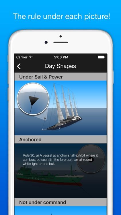 Marinus: boating rules ColRegs / IRPCS / IALA screenshot-4