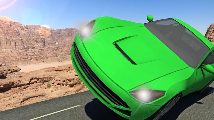 Fast Car Sky Racing and Extreme Furious Stunt screenshot-4