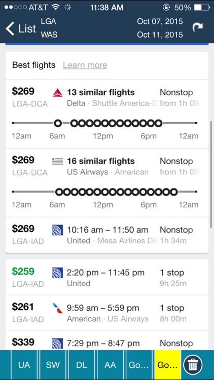 LaGuardia Airport (LGA) + Flight Tracker New York City screenshot-3
