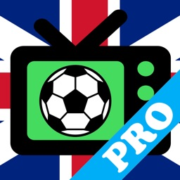 Football on UK TV PRO:  schedule of all football matches on Britain TV