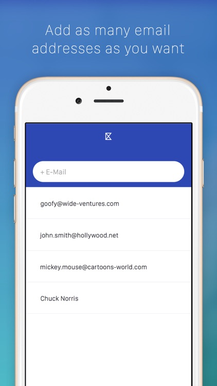 Kemail — keyboard to paste email addresses