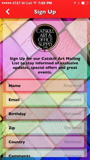 Catskill art office supply on the app store