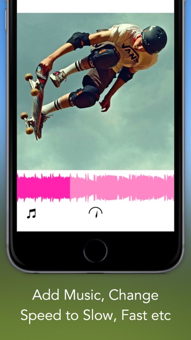 Video Effects - Special Effects for Videos, Custom Filters, Control Speed, Add Music and Share Screenshot on iOS