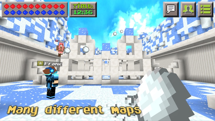 Snowball Fight : Mini Game With Worldwide Multiplayer screenshot-4