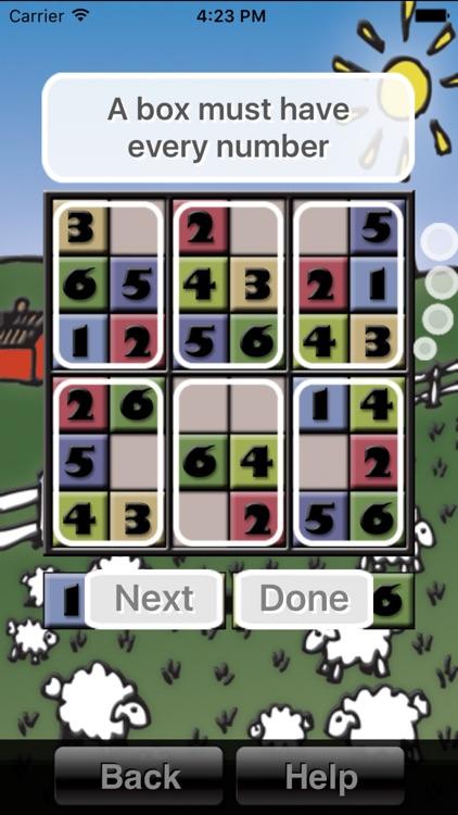 Sudoku School: Kids' Sudoku Puzzles for iPhone and iPad screenshot-3