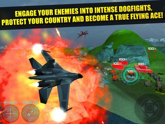 Plane Fighting Games >> Jet Plane Fighter Pilot Flying Simulator Real War Combat Fighting
