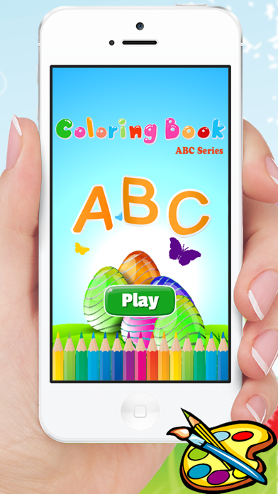 ABC Alphabet animals coloring book and drawing A-Z for kids