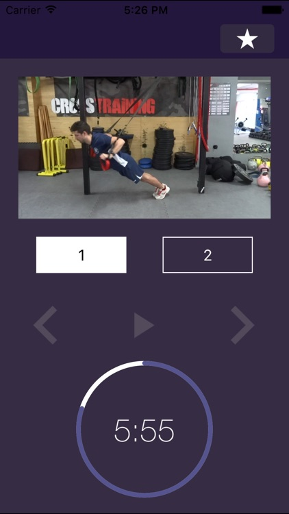 7 min Workout: Suspension Fitness Exercise Routine Trainer for Gym and Home Exercises – Force Hiit Training Workouts Center screenshot-3