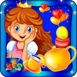 Princess Tea Party – Make desserts & cookies for royal guests in this cooking chef game