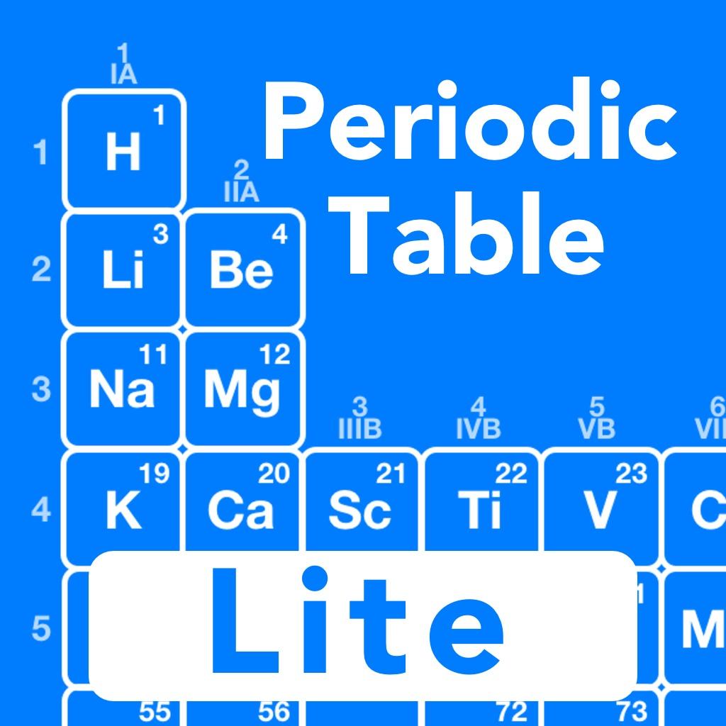 Periodic Table Chemistry Lite
