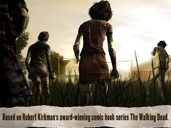 Ipad Screen Shot Walking Dead: The Game 0