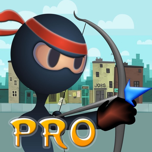 Archer Ninja Master PRO - Bow And Arrow Target Practice Game icon