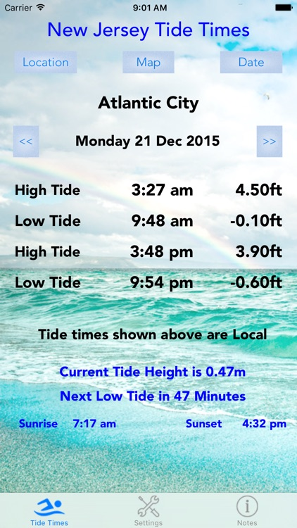 New Jersey Tide Times screenshot-0