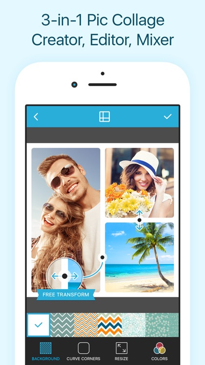 Collageable - Photo Collage Maker, Pic Grid Free