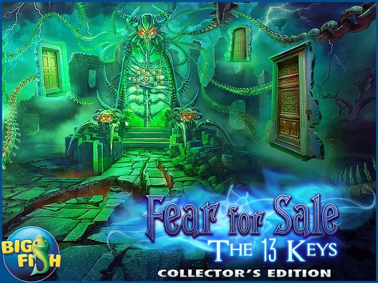 Fear For Sale: The 13 Keys HD - A Scary Hidden Object Mystery (Full) screenshot-4