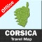 CORSICA (CORSE) – GPS Travel Map Offline Navigator