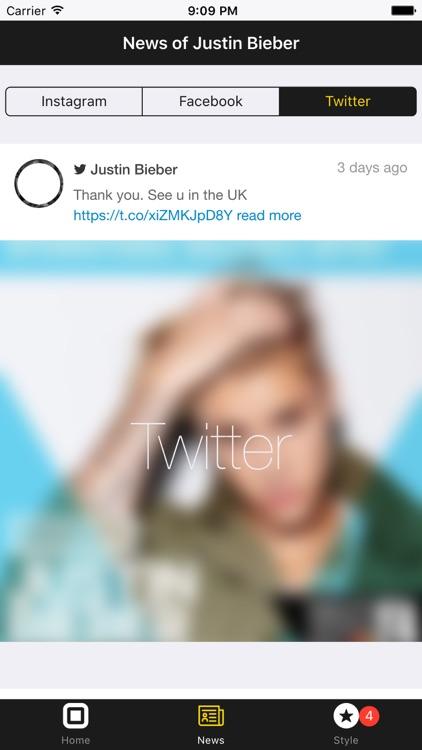 News Justin Bieber Edition screenshot-3