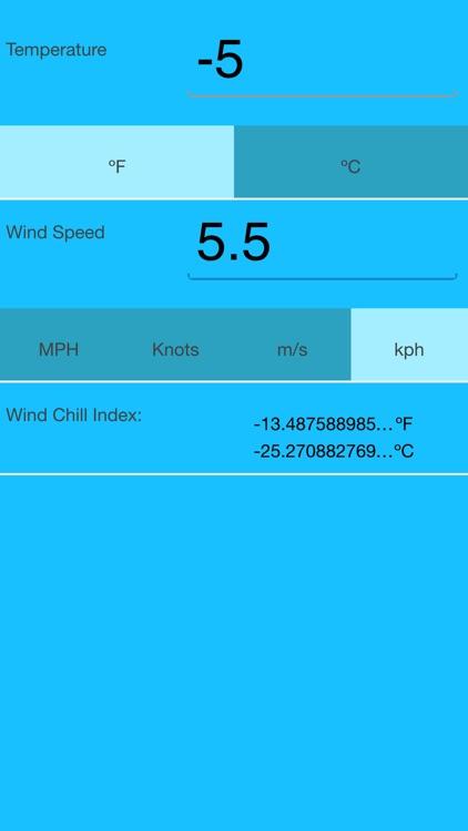 Windchill Temperature
