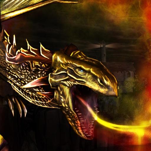 Dragon Fury Simulator 3D - игра хищников мести полета моделирование