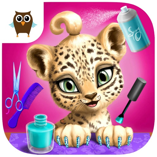 Jungle Animal Hair Salon - Wild Pets Haircut & Style Makeover - No Ads