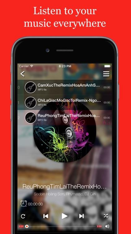 M-Cloud Player - Free Music for Cloud Platforms by Tran Van