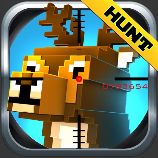 Wild Deer Hunt-ing Survival Pixel World 2016 - Mini Hunter