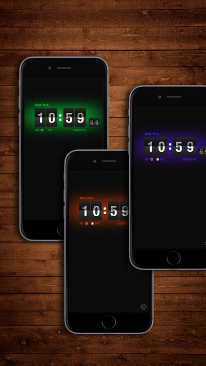 Flip Clock HD screenshot-0