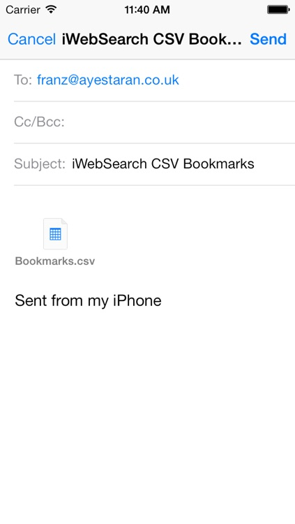 iWebSearch screenshot-4