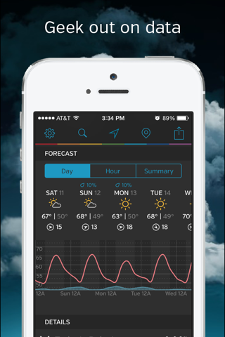 Weather Underground: Forecast screenshot 2