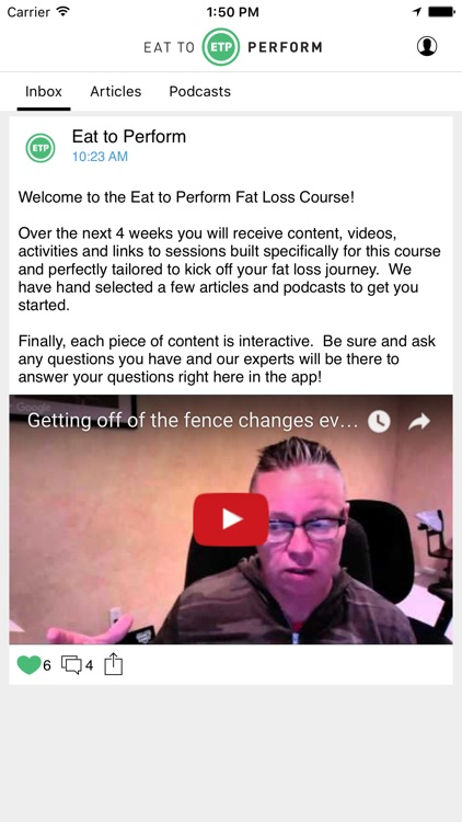 Fat Loss Course - Eat to Perform screenshot-1