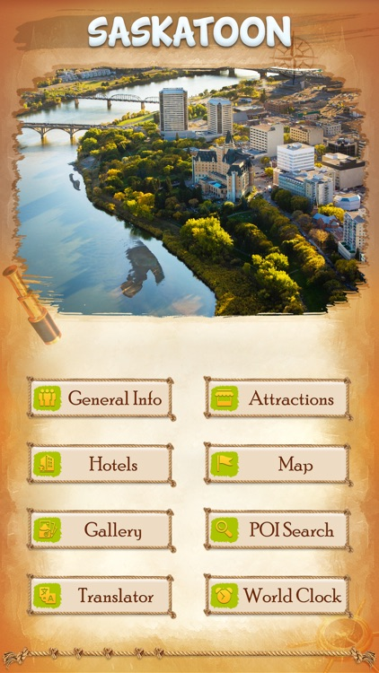 Saskatoon City Offline Travel Guide screenshot-1