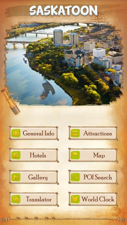 Saskatoon City Offline Travel Guide