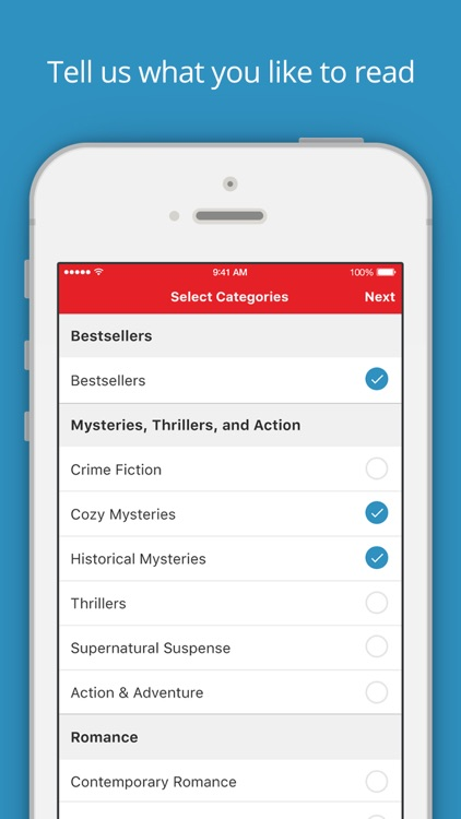 BookBub - Great Deals on Bestselling Ebooks screenshot-3